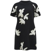 Marc by Marc Jacobs Women's Grand Painted Flower T-Shirt Dress - Black/Multi