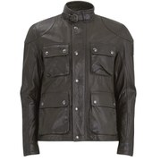 Belstaff Men's Burgess Leather Blouson Jacket - Dark Brown