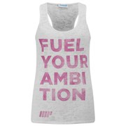 Camiseta Burnout sin Mangas - Mujer - Color Blanco