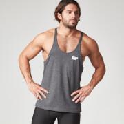 Myprotein Men's Longline Stringer Vest, Charcoal