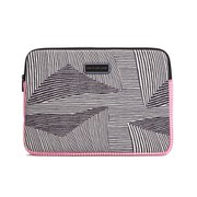 Marc by Marc Jacobs Neoprene Optical Stripe Multi 13 Inch Computer Case - Black/Multi