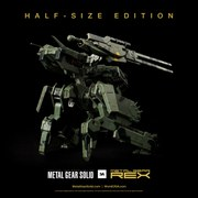 ThreeA Metal Gear Solid Metal Gear Rex 12 Inch Figure