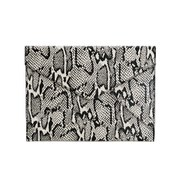 Rebecca Minkoff Women's Leo Clutch Bag - Snake Print