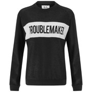 Zoe Karssen Women's Troublemaker Sweatshirt - Black