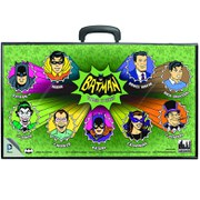 Mego DC Comics Batman Comic Art Action Figure Carrying Case