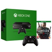 Xbox One Console - Includes The Witcher 3 & Wireless Controller