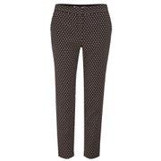Diane von Furstenberg Women's Genesis Trousers - Black/Ivory/Pink Ice