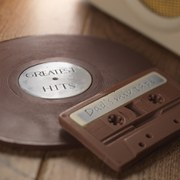 Retro Chocolate Vinyl and Cassette Duo
