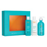 Moroccanoil Smoothing Shampoo, Conditioner and Lotion Trio (Worth £67.95)