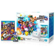 Wii U Splatoon + Inkling Boy amiibo + Super Smash Bros. Pack