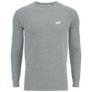 Myprotein Men's Performance Long Sleeve Top - Grey Marl