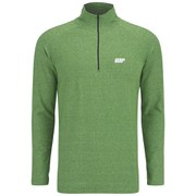 Myprotein Men's Performance Long Sleeve 1/4 Zip Top - Green Marl