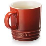 Le Creuset Stoneware Espresso Mug, 100ml - Cerise