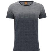BOSS Orange Men's Tavariz Striped T-Shirt - Navy