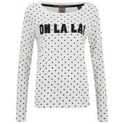 Maison Scotch Women's Oh La La T-Shirt - White