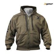 GASP Pro Gym Hood - Khaki Green