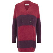 Paul by Paul Smith Women's Double Breasted Knitted Cardigan - Red