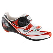 DMT Women's Pegasus Road Shoes - White/Red/Black