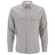 rag & bone Men's Jack Long Sleeve Shirt - Light Grey