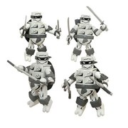 Teenage Mutant Ninja Turtles Mirage Black and White San Diego Comic Con 2015 Exclusive Minimates Box Set