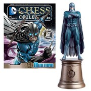 DC Comics Owl Man Black Knight Chess Piece with Collector Magazine