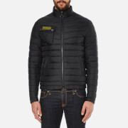Barbour International Men's Slim Fit Chain International Baffle Quilt Jacket - Black