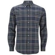 Polo Ralph Lauren Men's Button Down Checked Shirt - Navy/Hunter Green