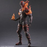 Square Enix Metal Gear Solid V The Phantom Pain Man on Fire Play Arts Kai Variant 12 Inch Figure