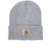 Carhartt Short Watch Hat - Acrylic Grey Heather