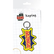 The Big Bang Theory Bazinga - Keyring