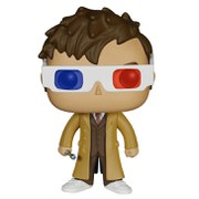 Doctor Who 10th Doctor 3D Specs Limited Edition Pop! Vinyl Figure