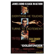 James Bond Goldfinger - Excitement  - 24 x 36 Inches Maxi Poster