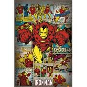Marvel Comics Iron Man Retro - 24 x 36 Inches Maxi Poster