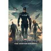 Marvel Captain America Winter Soldier One Sheet - 24 x 36 Inches Maxi Poster