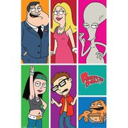American Dad Panels - 24 x 36 Inches Maxi Poster