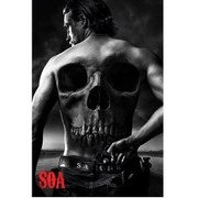 Sons Of Anarchy Skull - 24 x 36 Inches Maxi Poster