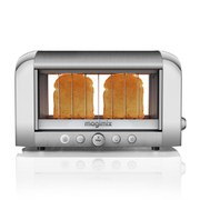 Magimix 2-Slice Vision Toaster - Brushed Steel