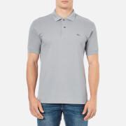 Lacoste Men's Short Sleeve Polo Shirt - Platinum