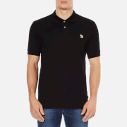 Paul Smith Jeans Men's Basic Pique Zebra Polo Shirt - Black
