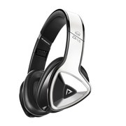 Monster DNA Pro On-Ear Headphones with Apple ControlTalk - White Tuxedo