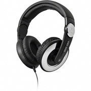 Sennheiser HD 205-II Over Ear Headphones - Black/Silver