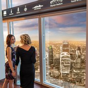 Thames Lunch Cruise and The View from the Shard for Two