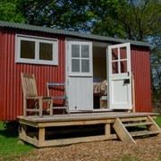Two Night Shepherd's Hut Glamping and Half Day Safari for Two