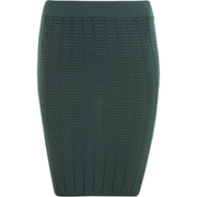 Y.A.S Women's Nora Coordinating Knitted Skirt - Green Gables