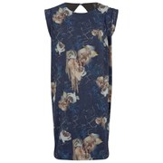Y.A.S Women's Edge Cliff Floral Dress - Navy