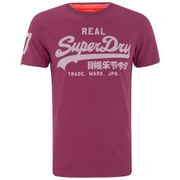 Superdry Men's Vintage Logo Entry T-Shirt - Cherry Concrete