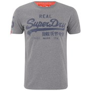 Superdry Men's Vintage Logo Entry T-Shirt - Dark Concrete