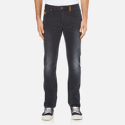 Superdry Men's Corporal Slim Denim Jeans - Dusted Black/Blue