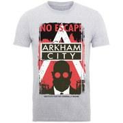DC Comics Batman Arkham Men's T-Shirt - Heather Grey