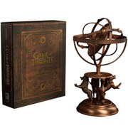Sideshow Collectibles Game of Thrones Astrolabe Replica and Book Guide to Westeros Collector's Edition